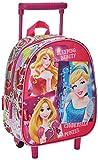 Disney Kinder-Trolley, Rucksack mit Prinzessinnen-Motiv, Rosa