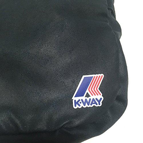 K-Way , Herren Schultertasche Mehrfarbig mehrfarbig blau