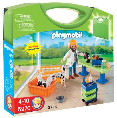 PLAYMOBIL 5970 Carrying Case Vet Clinic [Spielzeug] [Spielzeug] [Spielzeug]