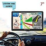 JinYuFeng GPS Voiture,2019 Latest GPS 7 Pouces écran Tactile Multi-Langue...