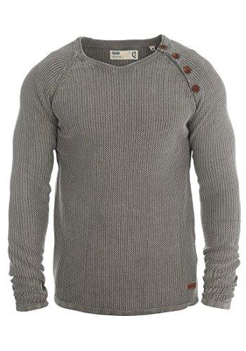 SOLID Tenne - Pull en Maille- Homme Grey Melange