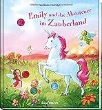 Emily und das Abenteuer im Zauberland: Funkel-Bilderbuch mit Glitzersteinen