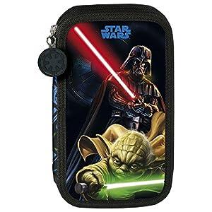 Star Wars – PORTATODO Doble Lleno Licencia Oficial – 21 x 12 x 4 cm