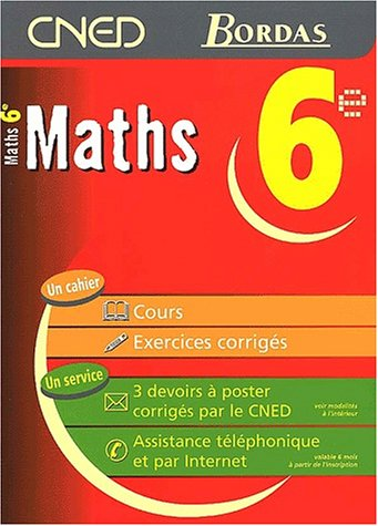 MATHS 6E - CNED/BORDAS (Ancienne Edition)