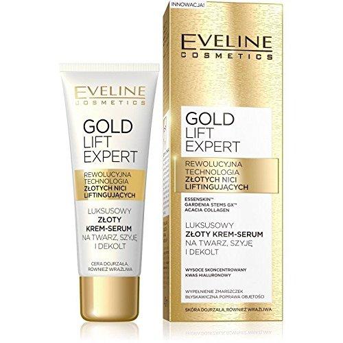 Eveline Cosmetics Gold Lift Expert Antifalten Serum mit 24Karat Gold 40ml