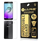 Sajni Creations Ikare Impossible Samsung Galaxy A7 2016 Front and back Tempered Screen Guard , Strong Plastic Fibre Unbreakable Flexible impossible Tempered Screen Guard Protector for Samsung Galaxy A7 2016 - Transparent