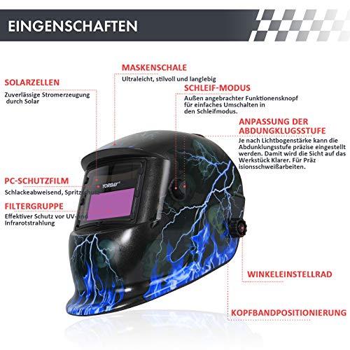 Zoom IMG-1 yorbay casco per saldatura solare