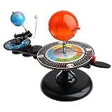 Baoblaze Modello Planetario Per Sistemi Solari Progetto Educativo Sistema Solare Orbitale Di Luna E Terra Kit Didattico Per Bambini