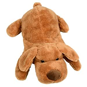 Novelty Hot Water Bottle With Super Soft Plush Cute Puppy Dog Animal Cover New