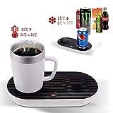 WULAU Smart Cup Heizung oder Kühlung Desktop Vakuumflasche 2-In-1 Desktop-Kaffeetasse für Home Office und persönlichen Gebrauch