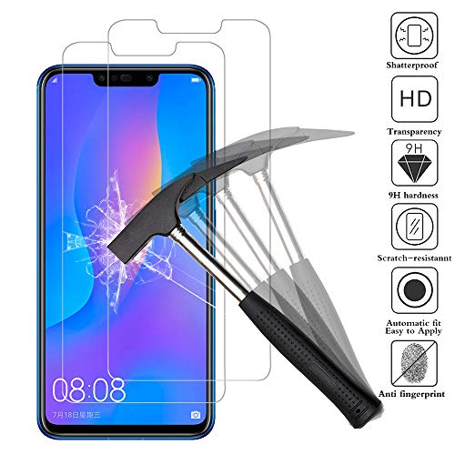 ANEWSIR Panzerglas für Huawei P Smart Plus/P Smart +, 9H Härte, Anti-Kratzen, Anti-Öl, Anti-Bläschen, P Smart Plus/P Smart + Schutzfolie Tempered Glass Hartglas HD Displayschutzfolie Panzerglasfolie