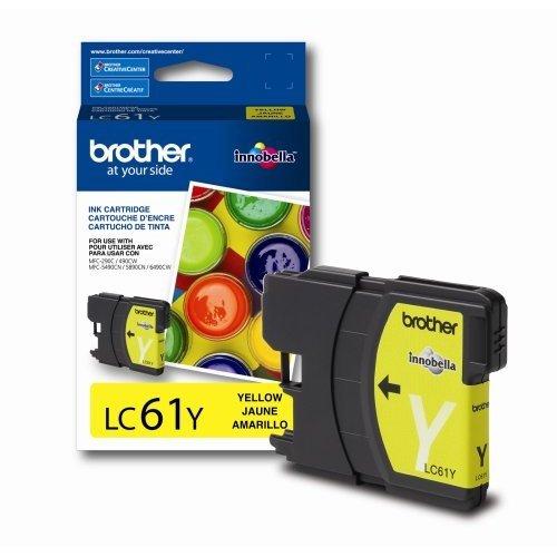 GTS: Brandneu original OEM Brother LC61Tintenpatrone gelb - Tintenpatronen Lc61 Brother