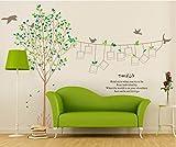 ElecMotive Fotorahmen Bilderrahmen Baum-Foto Abnehmbare Wandaufkleber Wandtattoo Wandsticker Aufkleber DIY für Wohnzimmer Schlafzimmer
