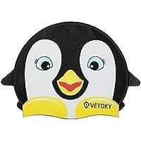 VETOKY Gorra de Natación, (Modelo Pinguino, Pez, Tiburon) Gorra de Silicon para Niños 3-10 años