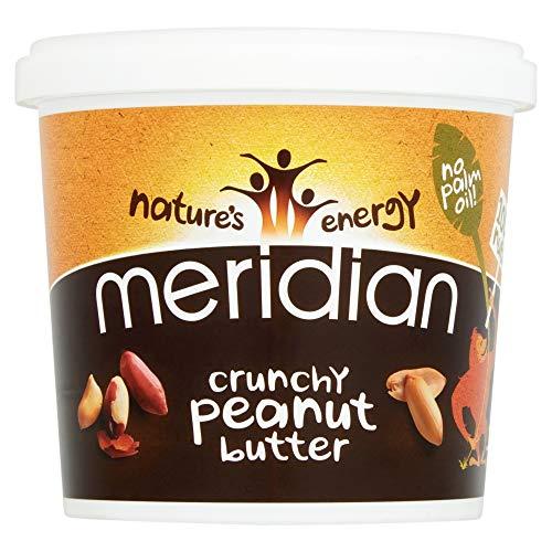 Meridian Nat Crunchy Pnut Butter No Sal 1000g