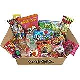 20 Dulces japoneses DAGASHI SEPTIEMBER set regalo con caramelo para los niños
