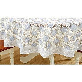KERVINFENDRIYUN YY4 Couverture de table ronde imperméable de nappe de PVC pour le dîner de mariage de fête de partie et plus (Color : ZNR-014G-3)