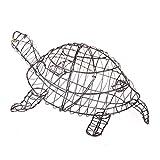 Gartenfigur Schildkröte 50 cm für Buxus Moos Efeu