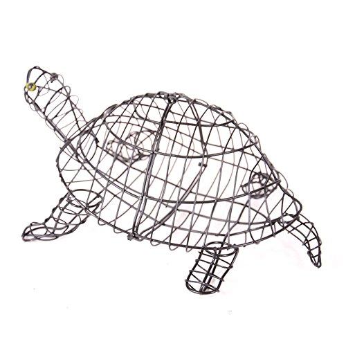 Gartenfigur Schildkröte 50 cm für Buxus Moos Efeu -