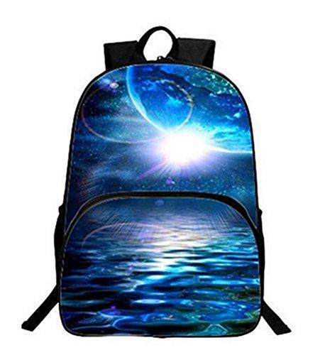 Ghope Sac à dos multi-fonction - Voyages, scolaire, loisirs - Peut contenir un ordinateur portable jusqu'à 15 pouces et une tablette - galaxy