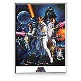 Cartel de Star Wars firmado por Darth Vader (Dave Prowse)