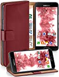 moex® Booklet mit Flip Funktion [360 Grad Voll-Schutz] für Samsung Galaxy A5 (2016) | Geldfach und Kartenfach + Stand-Funktio