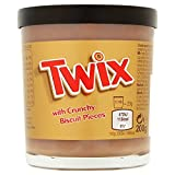 TWIX Spread with Crunchy Biscuit Pieces 200g, 1 pezzo