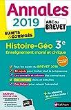 Annales ABC du Brevet 2019 - Histoire-Géographie-EMC