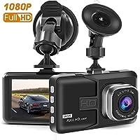 TS89 Busuo Dash Cam, Full HD 1080P Dash Cam Car Blackbox Car DVR Dashboard Camera Vehicle Camera Front G-Sensor Motion Detection Loop Video Recorder Night Vision