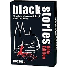 Moses. black stories Köln Edition | 50 rabenschwarze Rätsel | Das Krimi Kartenspiel