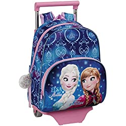 Frozen Northen Lights Mochila escolar, 34 cm, Azul