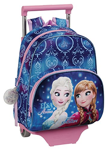 Frozen frozen northen lights zaino, 34 cm, blu (azul)