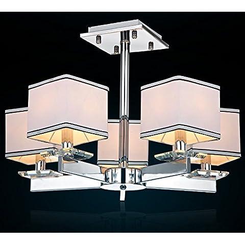 RFF-stile europeo creativo unico Lampadario in ferro battuto,5-MEIXI&
