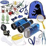 Anpro 25pcs Kids Outdoor Explorer Kit, Children Adventure Toys Gift for Boys including
