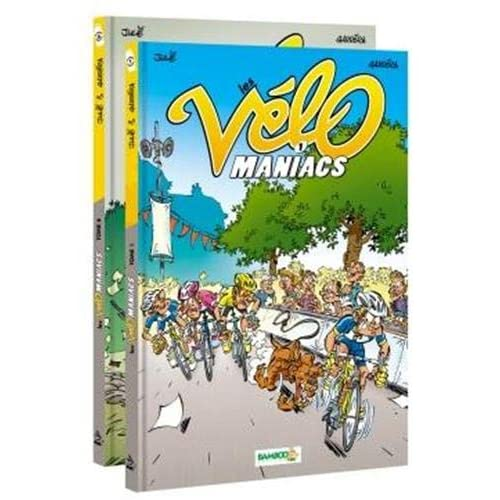 Pack Les Vélomaniacs Tome 01 + Tome 06 offert