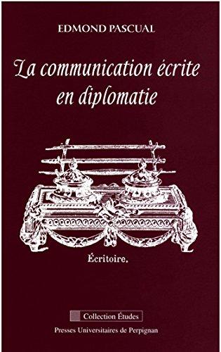 La communication écrite en diplomatie
