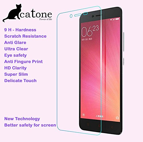 Catone ™ - 0.3MM Thick 9H Ultra Clear Premium Mobile Phone Tempered Glass Film For Micromax Yu Yureka plus