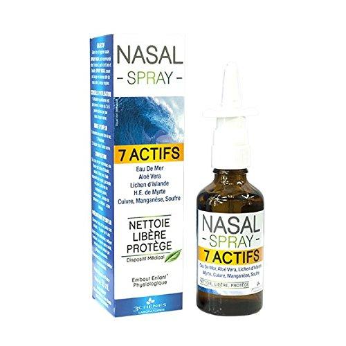 Les 3 Chênes Spray Nasal 7 Actifs 50 ml