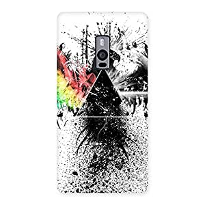 Impressive Prism Eagle Multicolor Back Case Cover for OnePlus Two