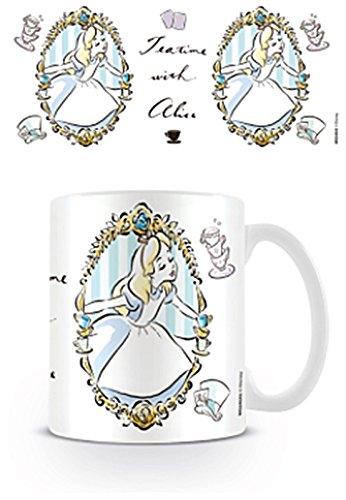 """Alice au pays des merveilles """"Frame"""" Mug en céramique, multicolore"""