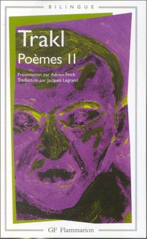 Poèmes II