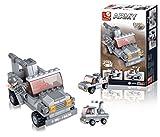 Sluban 0537C - Costruzioni Jeep 3 In 1 Mattoncini Per Bambini 6 Anni +