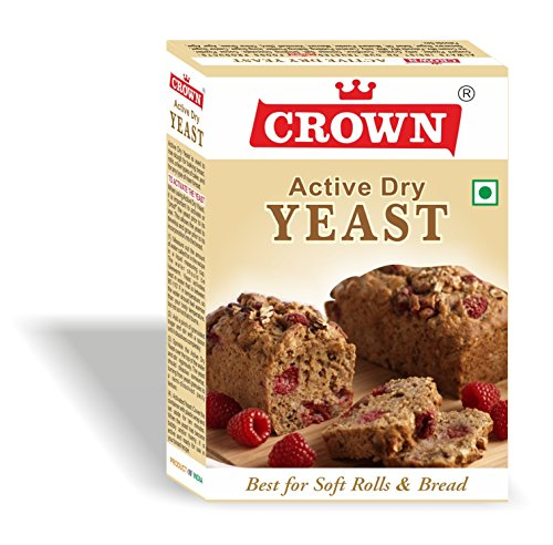 Active Dry Yeast / Instant Dry Yeast 125g - (25g x Pack of 5, Total:125g)
