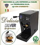 Maschine für Espresso A Waffeln Delizia Silver Express by GHA