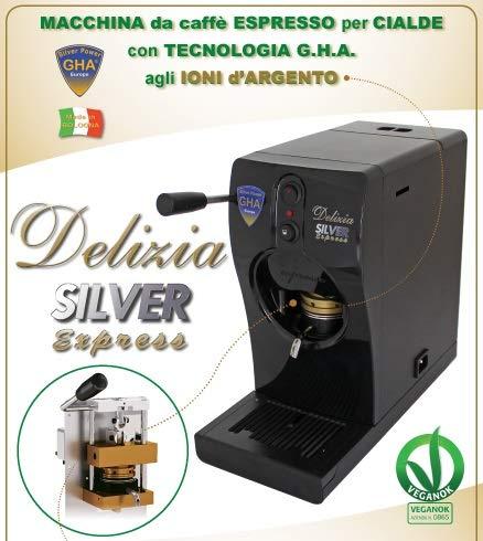 """Macchinetta per espresso a Cialde\""""Delizia SILVER Express\"""" by GHA"""