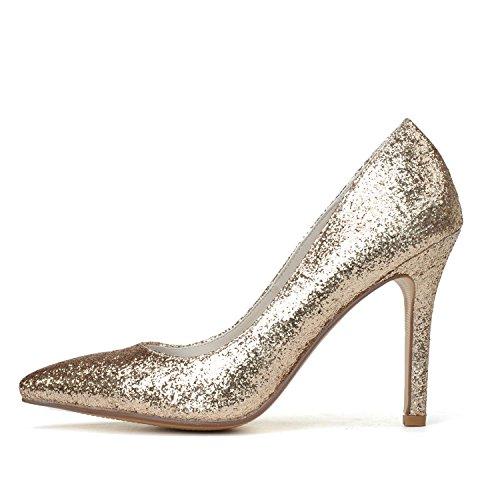 Chaussures De Mariage Pour Femmes L @ Yc # 0608-13 Cuir Artificiel Pointu / Extérieur / Vêtements / Grande Pompe De Base Blanc