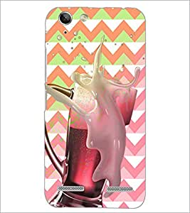 PrintDhaba Beer Mug D-2800 Back Case Cover for LENOVO A6020a46 (Multi-Coloured)