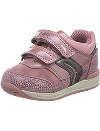 Geox B Rishon Girl A, Zapatillas Bebé-para Niñas