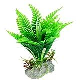 sourcingmap® Plastik grün Aquatisch Wasser Pflanze Dekor für Fisch Tank Aquarium Ojqiw de