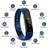 Smart Fitness Band, MUZILI 115 Activity Tracker Sleep Monitor, Fitness Tracker IP68 Waterproof
